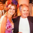 Gianni Versace with Stephanie Seymour in 1994