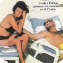 Linda Evangelista and Fabien Barthez