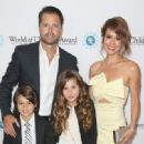 Brooke Burke-Charvet and daughter Heaven Rain attend World Of Children Award 2016 Alumni Honors at Montage Beverly Hills on April 12, 2016 - 454 x 331