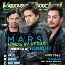 Jared Leto, Shannon Leto, Tomo Milicevic - Vegas Rocks Magazine Cover [United States] (April 2010)