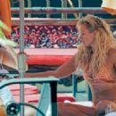 Nicky Whelan in Bikini on the pool in Las Vegas - 454 x 328