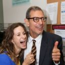 Emilie Livingston and Jeff Goldblum - 400 x 600