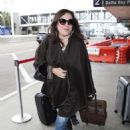 Jennifer Tilly at LAX Airport in Los Angeles - 454 x 626