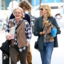 Naomi Watts is all smiles while out and about in New York City, New York with her mom Myfanwy Edwards Roberts on October 17, 2016 - 454 x 494