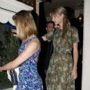 More Pictures Of Taylor Swift and Dianna Agron Leaving Restaurant In Los Angeles