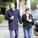 Ben Affleck and Jennifer Garner grabbing coffee in LA (November 29, 2013)