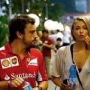 Kapustina @ Singapore Grand Prix 2014 - 454 x 289