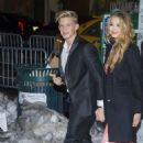 Cody Simpson & Gigi Hadid attend Sports Illustrated Swimsuit Celebrates 50 Years of Swim in New York City, West Broadway / New York City