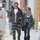 Ashley Tisdale Christopher French Out In Studio City