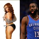 Trina and James Harden (basketball) - 454 x 380