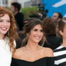 Actress Rachelle Lefevre attends the 41st Deauville American Film Festival Opening Ceremony on September 4, 2015 in Deauville, France
