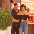 Lucy Hale and Ryan Rottman – Leaving Tasting Kitchen in Venice