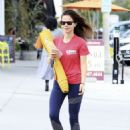 Tammin Sursok – Leaving a yoga class in Los Angeles