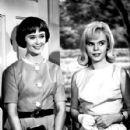 Christine White with Jenny Maxwell in Ichabod and Me, 1962