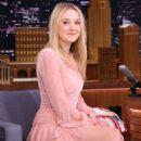 Dakota Fanning on 'The Tonight Show Starring Jimmy Fallon' in NY - 454 x 658
