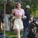 Kristen Stewart As Theresa On The Set Of Woody Allen Movie In West Hollywood