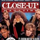 Candlemass - Close-Up Magazine Cover [Sweden] (February 2017)