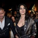 Monica Bellucci – Arrives at the birthday party of Domenico Dolce Nella in Milan
