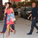 Bethenny Frankel out for dinner in New York City - 454 x 454