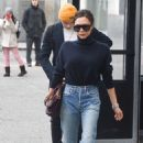 Victoria Beckham in Jeans out in New York City - 454 x 744