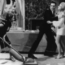 Celeste Yarnall and Elvis Presley