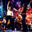 Lenny Kravitz and Madonna