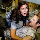 Odette Yustman and Michael Stahl-David in Cloverfield