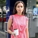 Georgina Campbell – Arriving at Global studios in London - 454 x 681