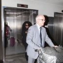 Diana Ross arriving at LAX Airport