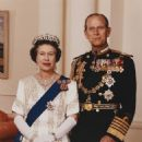 Prince Philip and Queen Elizabeth II - 454 x 568