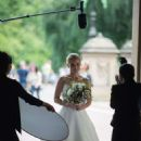 Kristen Bell dons a wedding dress filming 'Like Father' in NYC
