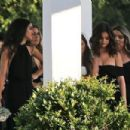 Selena Gomez – Spotted at her cousin's wedding in Los Angeles - 454 x 303