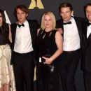 The Cast and Director of Boyhood at the Governors Awards