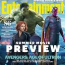 Paul Bettany, Scarlett Johansson, Mark Ruffalo - Entertainment Weekly Magazine Cover [United States] (18 April 2015)