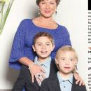 Leticia Calderón, Luciano and Carlos- TVyNovelas Mexico Magazine May 2013 - 248 x 597