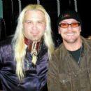 Jason Bonham & friend