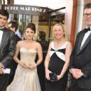 Minissha lamba at Cannes Festival 2011 - 454 x 314