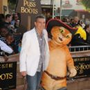 Antonio Banderas attends the 'Puss In Boots' Los Angeles Premiere at Regency Village Theatre on October 23, 2011 in Westwood,