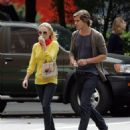 Kate Bosworth and James Rousseau stroll in West Village, NYC 2007-09-13 - 454 x 561