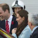 Duke & Duchess Of Cambridge Visit The Valero Pembroke Refinery (November 09, 2014)