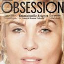 Emmanuelle Seigner - Obsession Magazine Cover [France] (November 2013)
