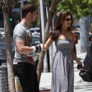 Kelly Brook - Out For Lunch In Los Angeles, 30 May 2010