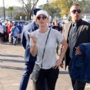 Kaley Cuoco – Arrives at Dodger Stadium for the World Series in LA - 454 x 669