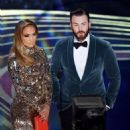 Jennifer Lopez and Chris Evans At The 91st Annual Academy Awards - Show - 454 x 504
