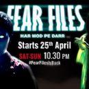 Fear Files  -  Publicity
