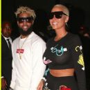 Amber Rose and Odell Beckham Jr. Attend the  Neon Carnival during the 2017 Coachella Music Festival in Indio, California - April 15, 2017 - 454 x 679