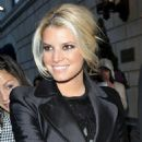 Jessica Simpson Leaving A Hotel In New York, October 13 2009