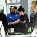 Kristen Leaving LAX, Bound for Paris- January 29th