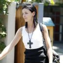 Liberty Ross steps out in Los Angeles not wearing her wedding ring and reportedly en route to her lawyer's office