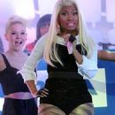 Nicki Minaj Lights Up Times Square for Nokia